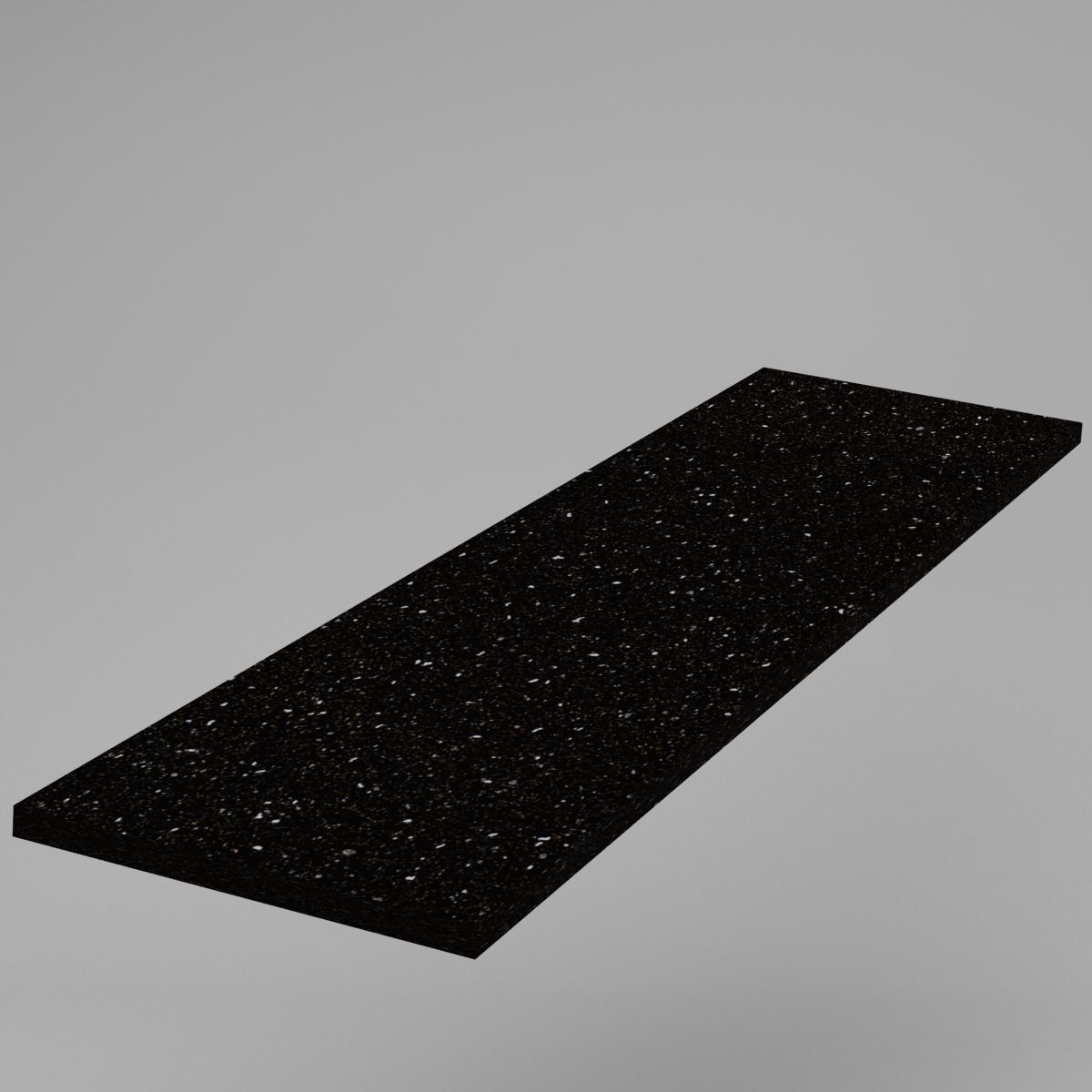 Nietypowy Okaz Blat kuchenny Andromeda Sirius Czarna A300 38 mm - Labi MebleLabi VL71